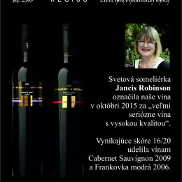 Jancis Robinson and our wines